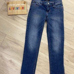 White House Black Market Slim Crop Jeans Size 0
